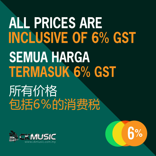CK Music Prices Inclusive Of GST