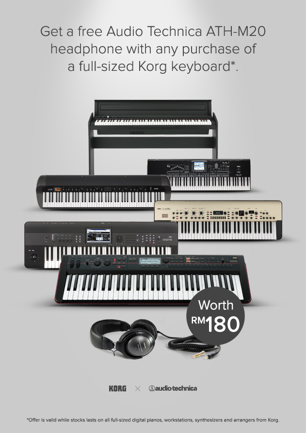 CK Music Korg x Audio Technica Promotion