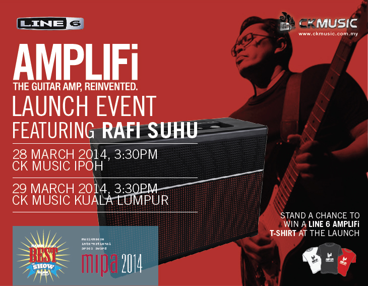Line 6 AMPLIFi launch featuring Rafi Suhu