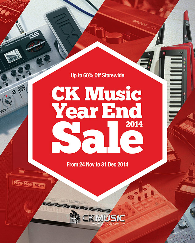 CK Music Year End Sale 2014