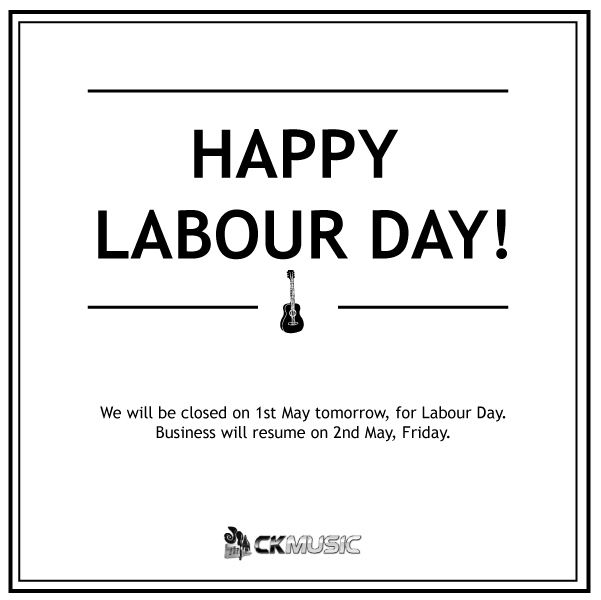 Closed for Labour Day