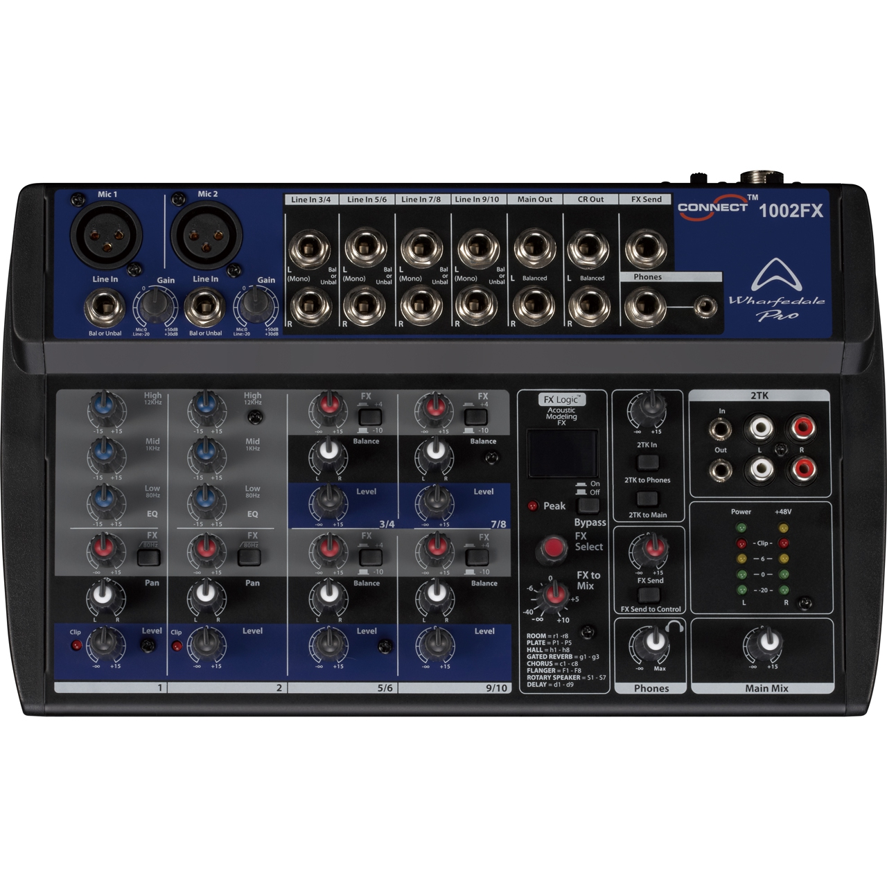 Wharfedale Pro Connect 1002fx Mixers