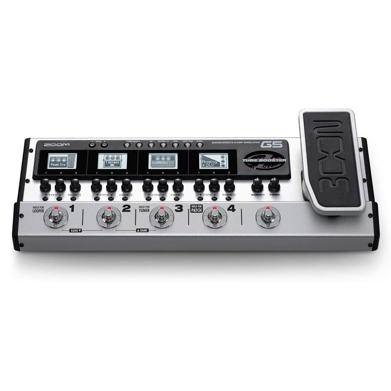 zoom g5 guitar effects effects processor. Black Bedroom Furniture Sets. Home Design Ideas
