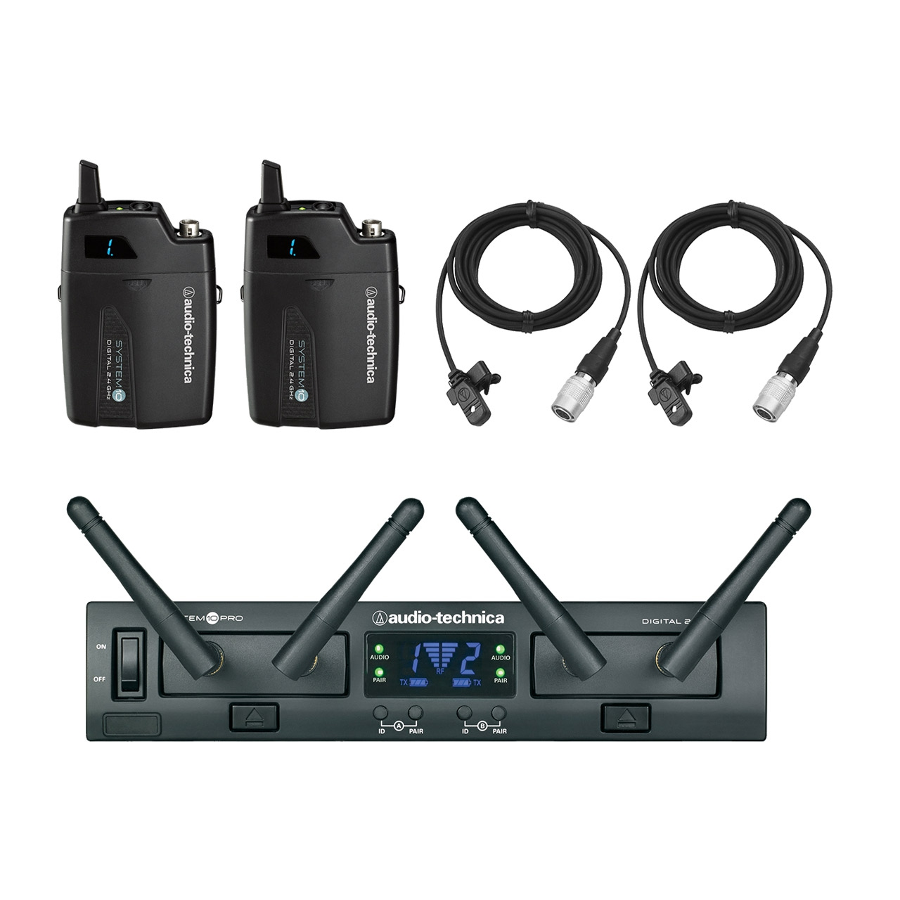 Audio Technica System 10 Pro ATW-1311/AT831CW