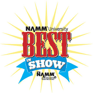 NAMM University Best In Show Badge