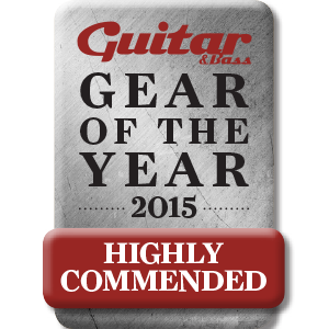Blackstar ID Core BEAM Gear of the Year award badge 2015 - High Recommended