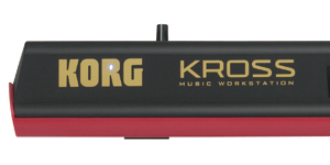 Korg Kross Two Tone Design
