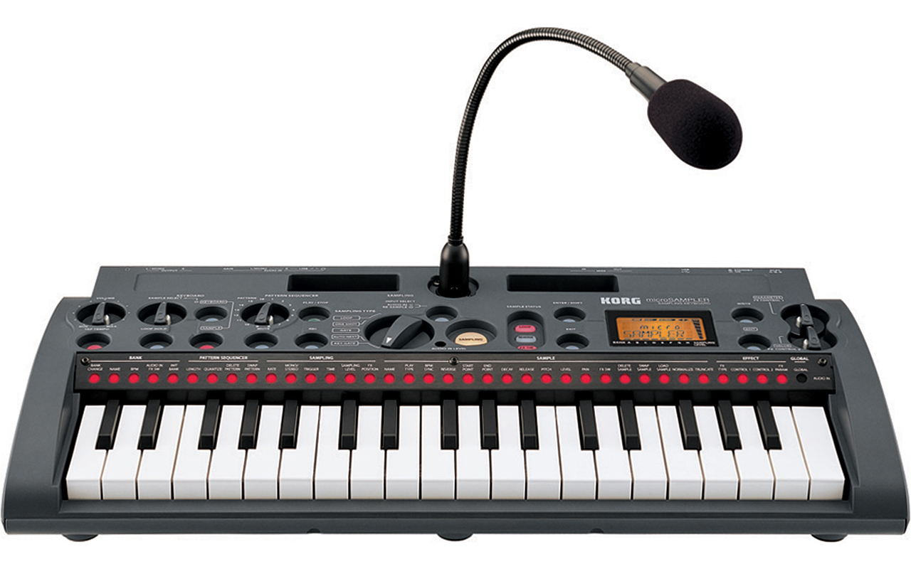 Home > Products > Keyboards > Synthesizers > Korg MicroSampler