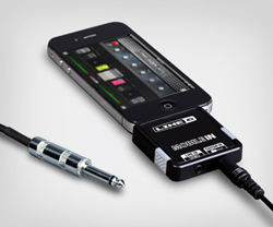 Line 6 Mobile In - includes high-quality 6-foot guitar cable with 1/8-inch and 1/4-inch ends