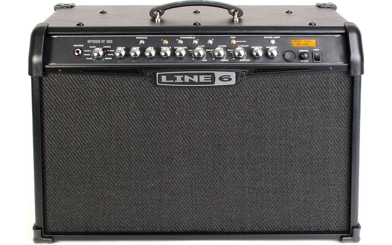 Related keywords amp suggestions for line 6 guitar amps - Line 6 Spider Iv 120 Guitar Amplifiers Combos Instrument