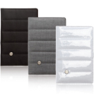 Civilian Passport Wallet ( Sharkskin (Jet Black) )