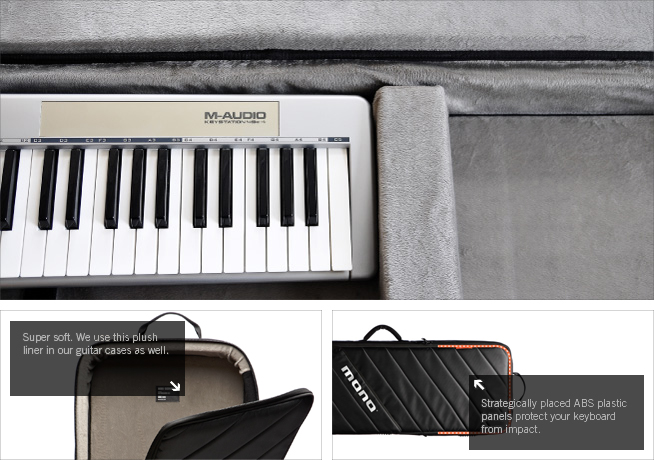 Mono M80-K61 - Hybrid instrument case for keyboard 61 keys