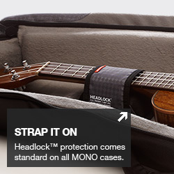 Mono M80 Ukulele Case - Headlock Neck Protection