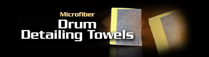 Music Nomad Microfiber Drum Detailing Towels