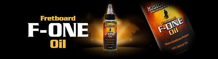 Music Nomad F-ONE Oil - Fret and Fretboard Cleaner and Conditioner
