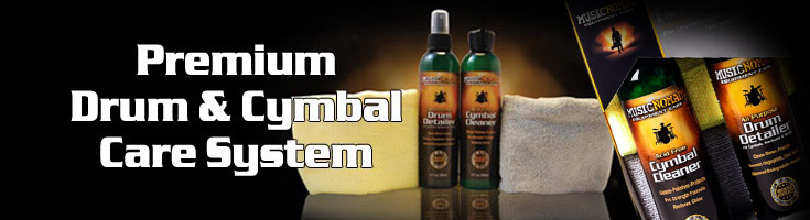 Music Nomad Premium Drum and Cymbal Care System
