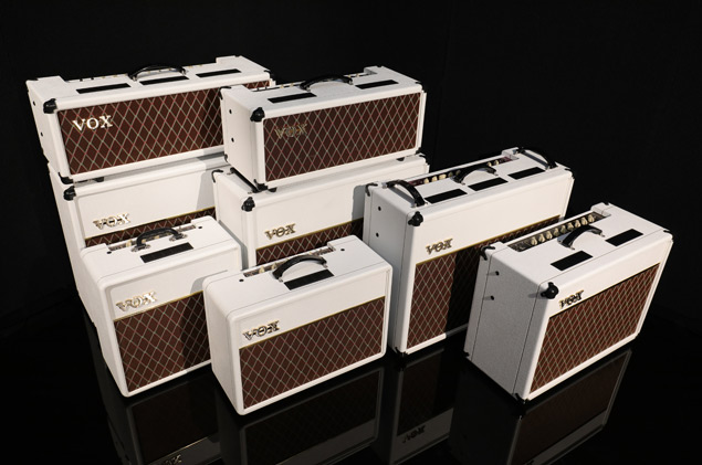 Vox AC Custom White Bronco