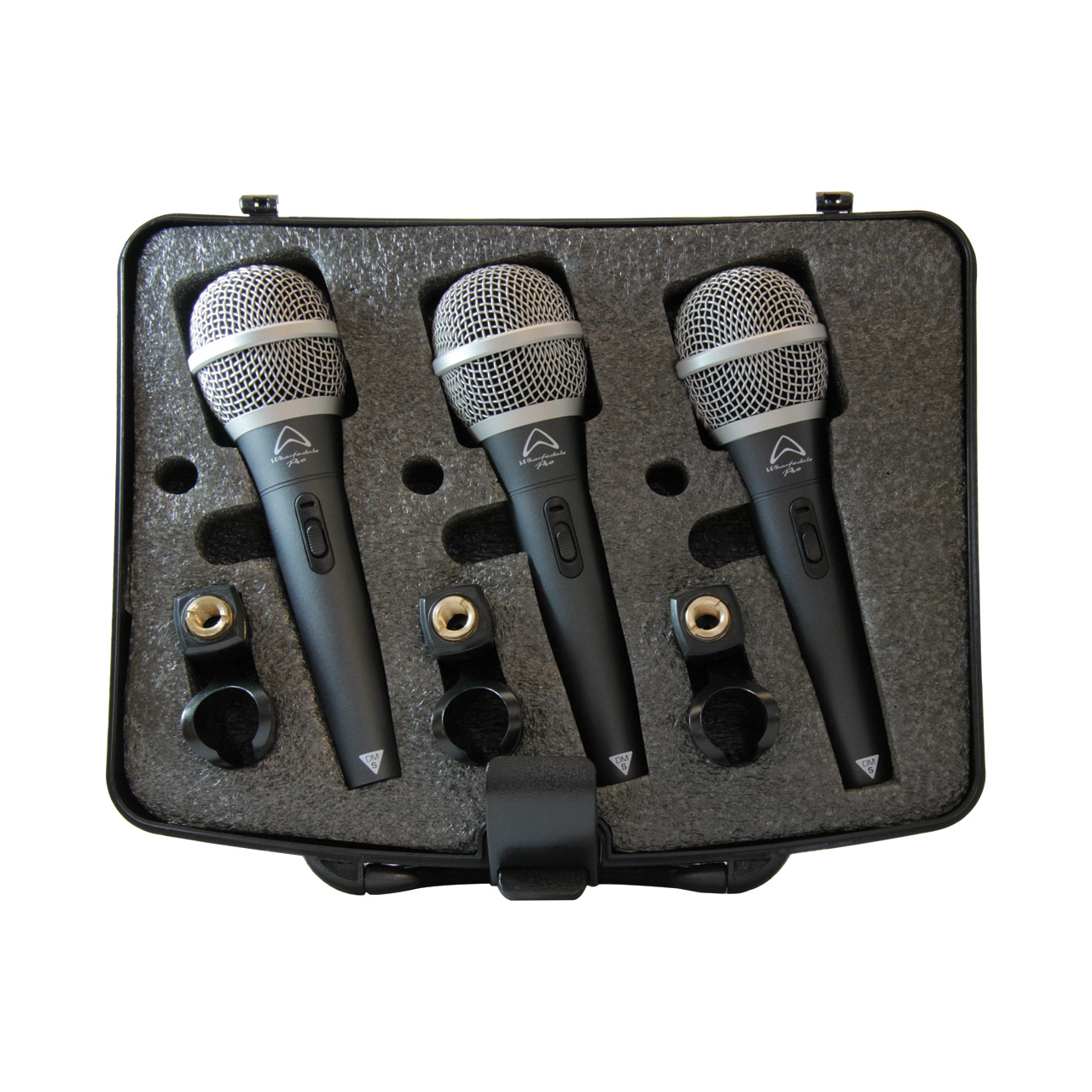 wharfedale pro dm s 3 pack microphones. Black Bedroom Furniture Sets. Home Design Ideas