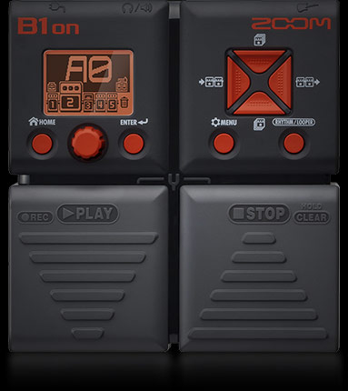 Zoom B1on - Bass Multi-effects Pedal