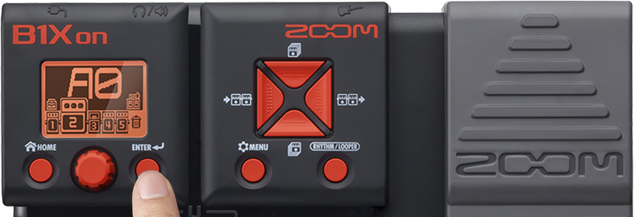 Zoom B1Xon - Effects