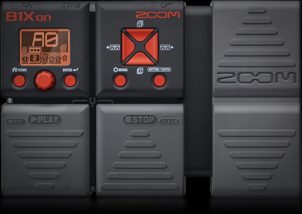 Zoom B1Xon - Bass Multi-effects Pedal