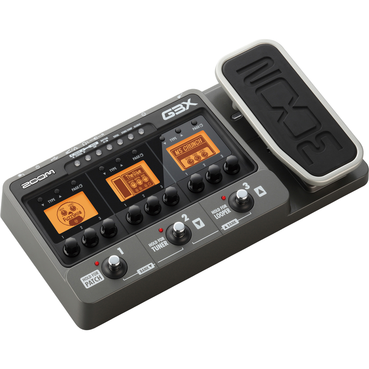 zoom g3x guitar effects effects processor. Black Bedroom Furniture Sets. Home Design Ideas