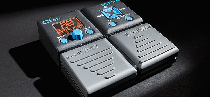 Zoom G1on - Guitar Multi-Effects Pedal