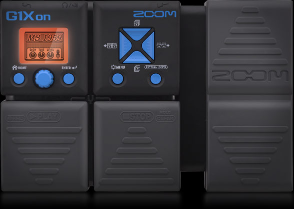 Zoom G1Xon - Guitar Multi-effects Pedal