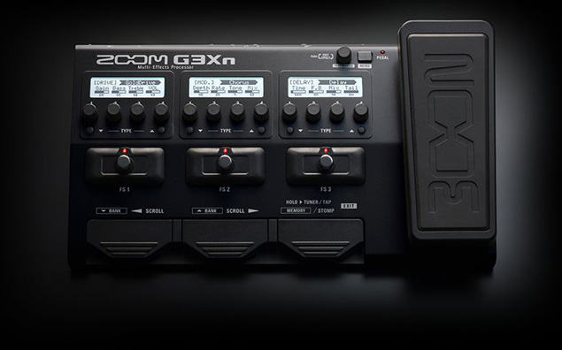 zoom g3xn guitar effects effects processor. Black Bedroom Furniture Sets. Home Design Ideas
