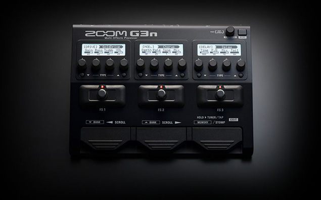 zoom g3n guitar effects effects processor. Black Bedroom Furniture Sets. Home Design Ideas