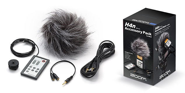 Zoom H4n - APH-4n Accessory Pack for DSLR Cameras
