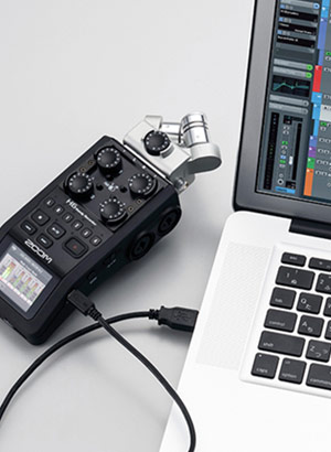 Zoom H6 Handy Recorder - Audio Interface