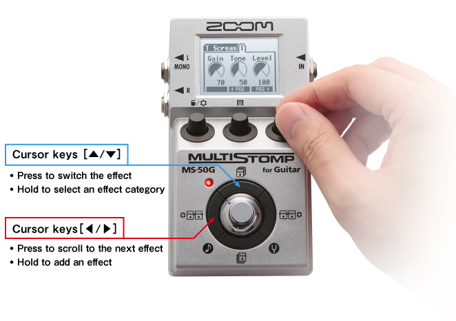 Zoom oom MS-50G