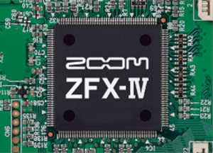 Zoom MS-70CDR - ZFX IV DSP