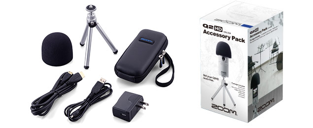 Zoom Q2HD - APQ-2HD Accessory Pack