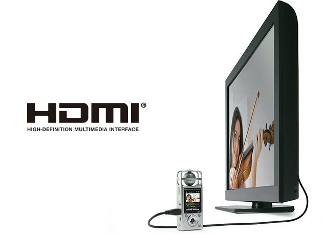 Zoom Q2HD - HDMI Output