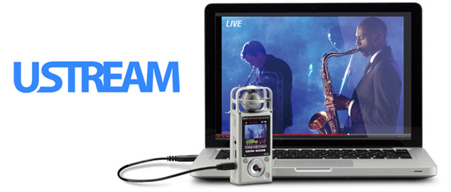Zoom Q2HD - Ustream