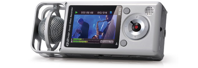 Zoom Q2HD - Video Playback