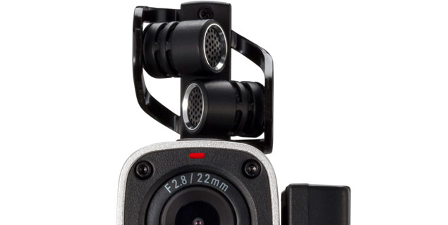 Zoom Q4 X/Y Stereo Microphone