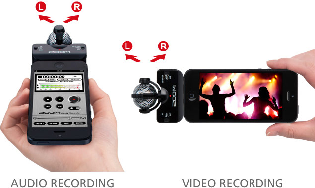 Zoom iQ5 - Recording Methods