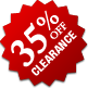 Clearance - 35% Off