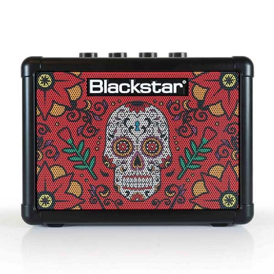 Blackstar Fly 3 Sugar Skull 2 Mini Guitar Amp