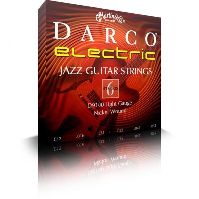Darco D9100 6 Strings Pack for Electric Guitar