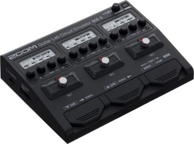 Zoom GCE-3 - Guitar Lab Circuit Emulator USB Audio Interface