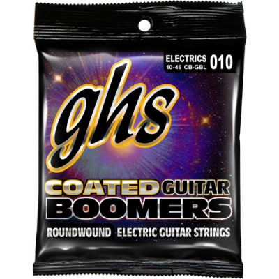 GHS CB-GBL Light Coated Boomers Roundwound Electric Guitar Strings
