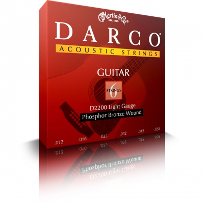 Darco D2200 6 Strings Pack for Acoustic