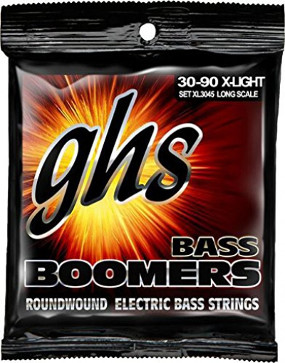 GHS XL3045 Extra Light Bass Boomers Electric Bass 4 Strings