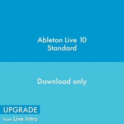Ableton Live 10 Standard, UPG from Live Intro (Full Download)