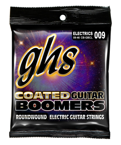 GHS Electric Guitar Coated Boomers Roundwound Custom LT