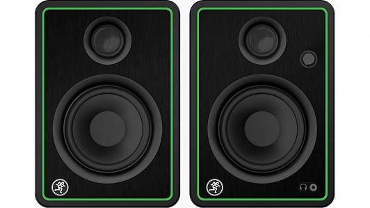 Mackie CR4-XBT (Pair) 4 inch Creative Reference Multimedia Monitors with Bluetooth (CR4XBT / CR4-XBT)